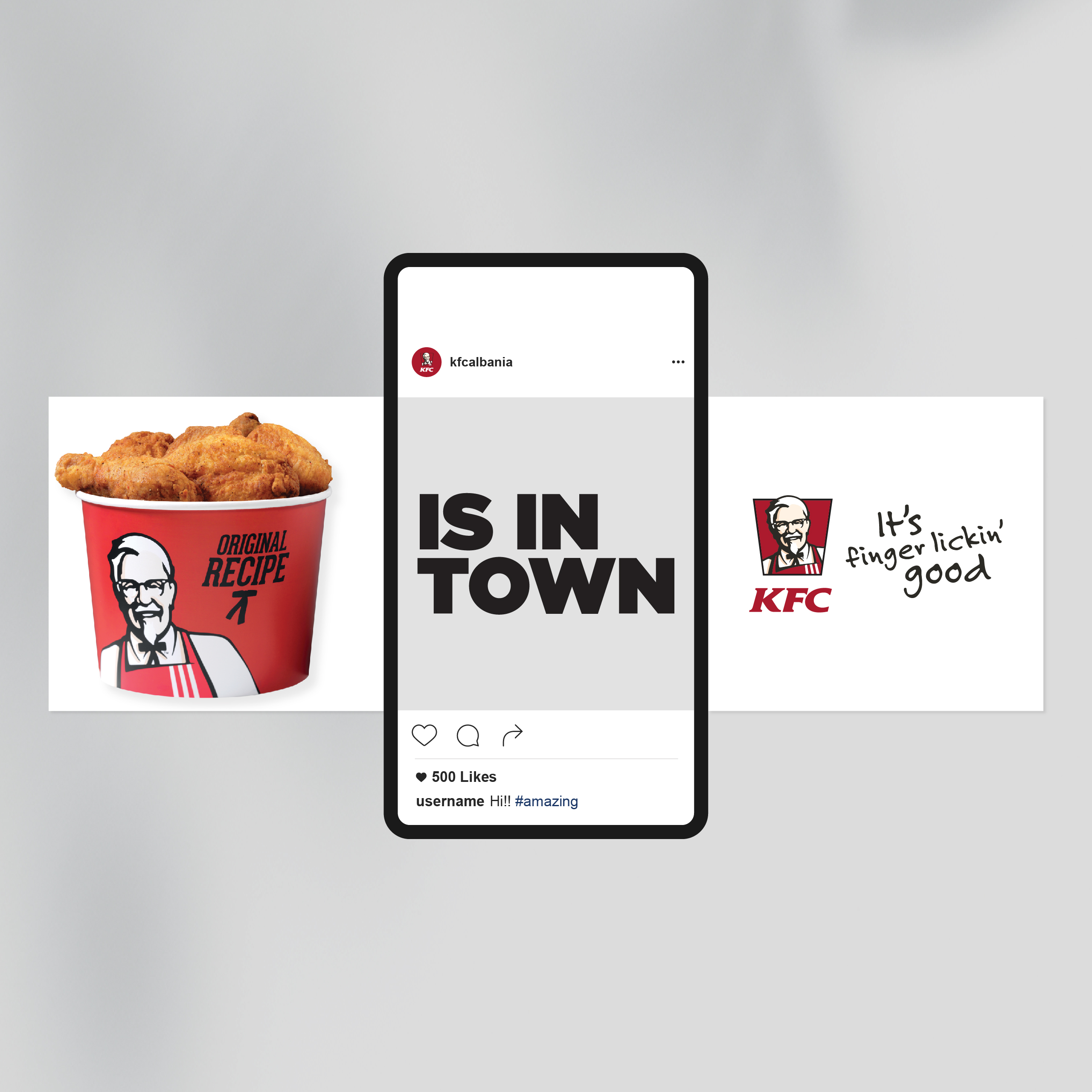 KFC, Social, Project Img 11 - Vatra Agency / Founder & CEO Gerton Bejo