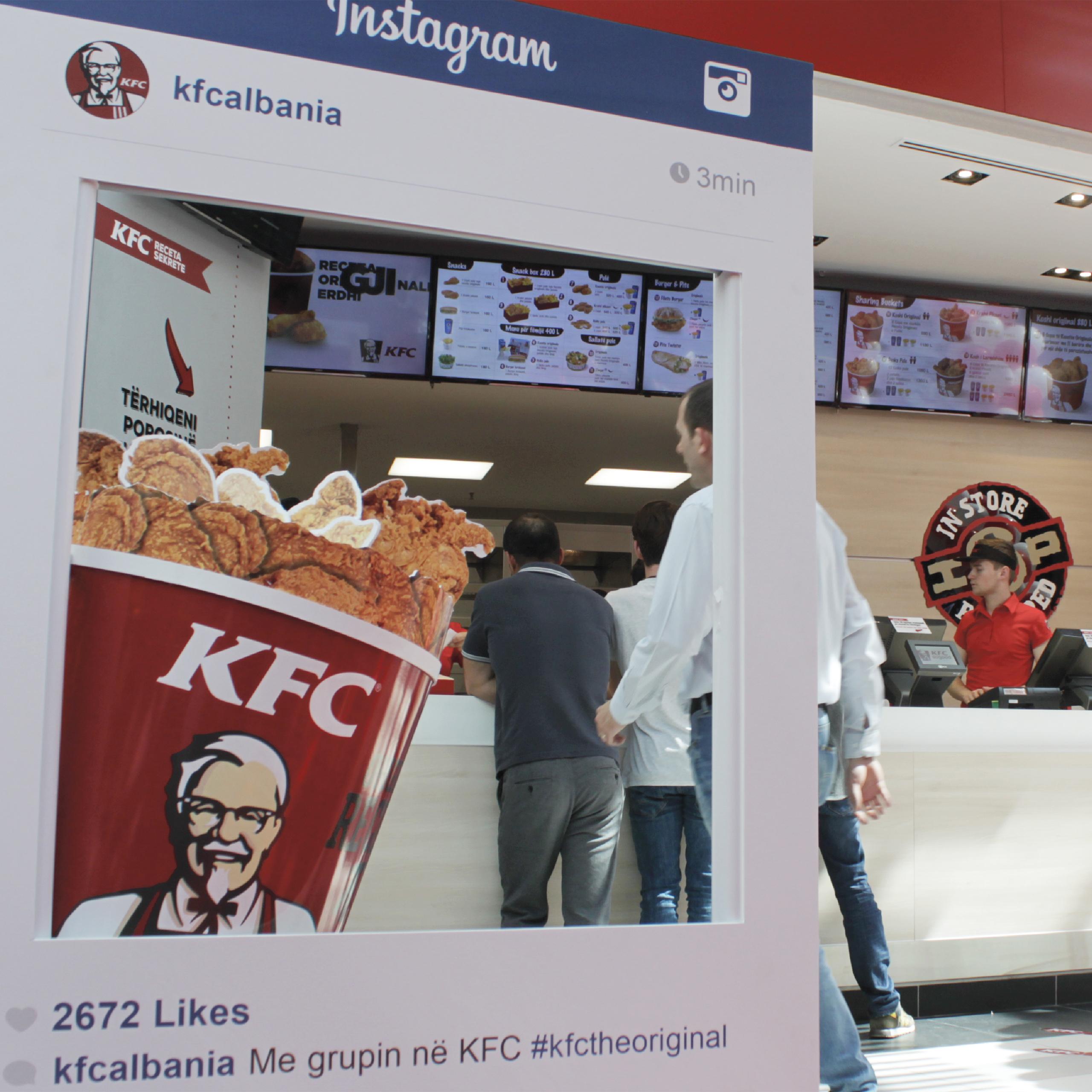KFC, Social, Project Img 15 - Vatra Agency / Founder & CEO Gerton Bejo