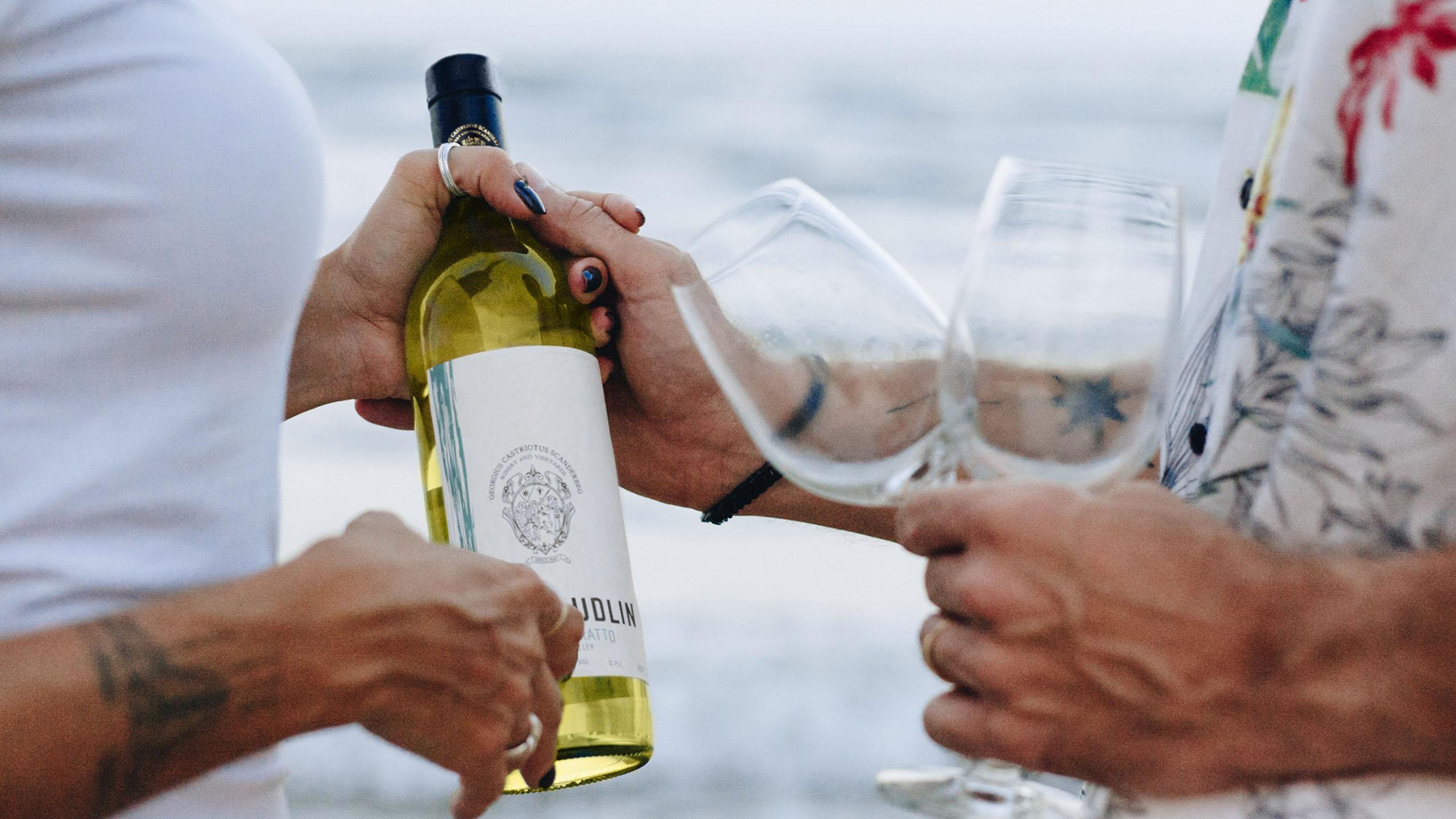 Kantina Skenderbeu, Wine, Project Img 1 - Vatra Agency / Founder & CEO Gerton Bejo