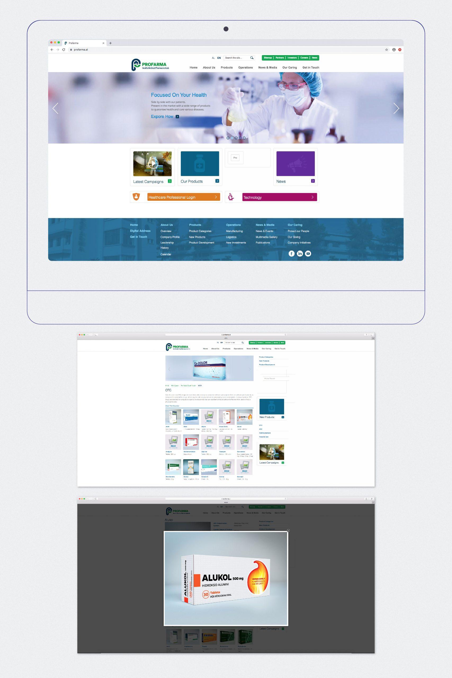 Profarma, Project Img 3 - Vatra Agency / Founder & CEO Gerton Bejo
