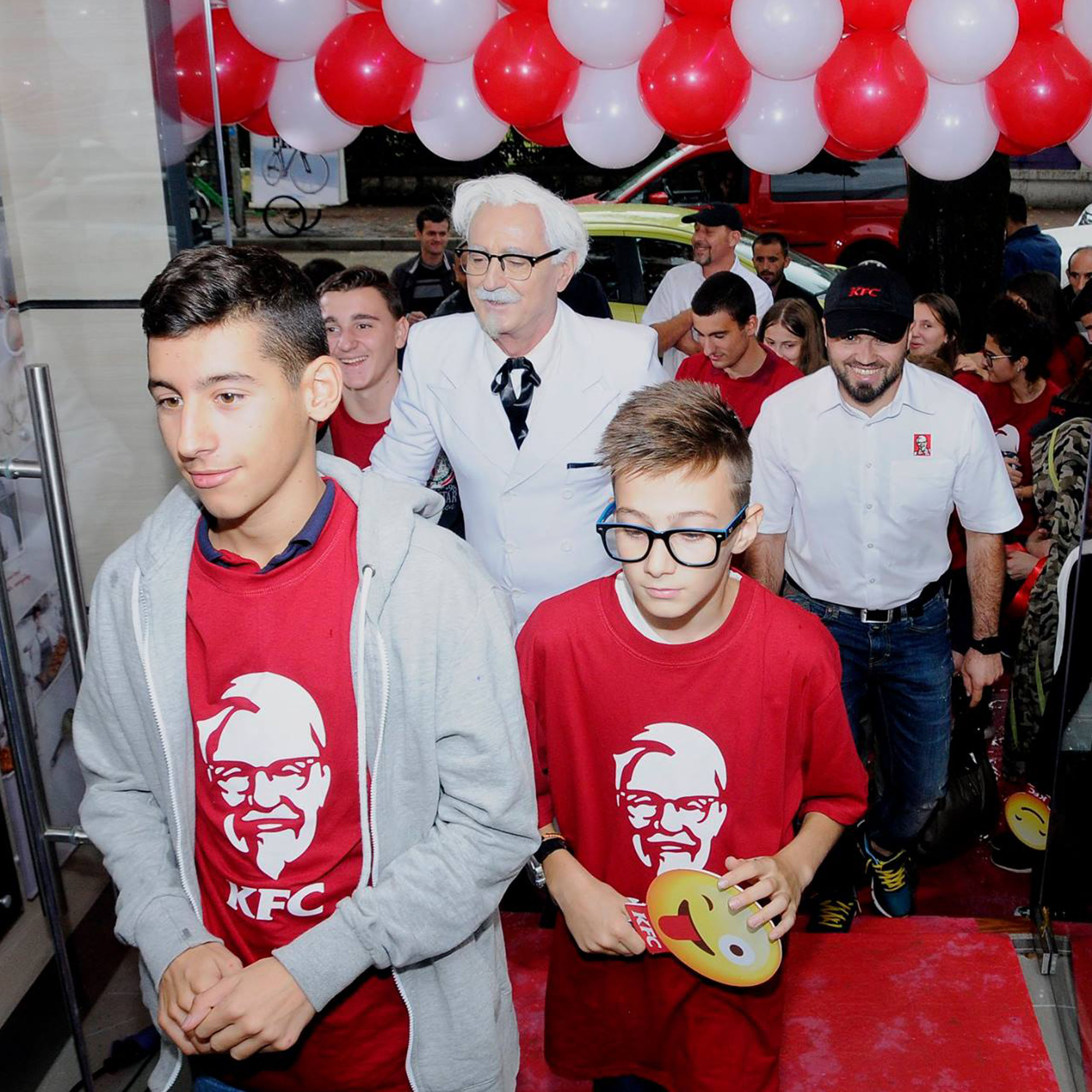 KFC Albania, Project Img 3 - Vatra Agency / Founder & CEO Gerton Bejo