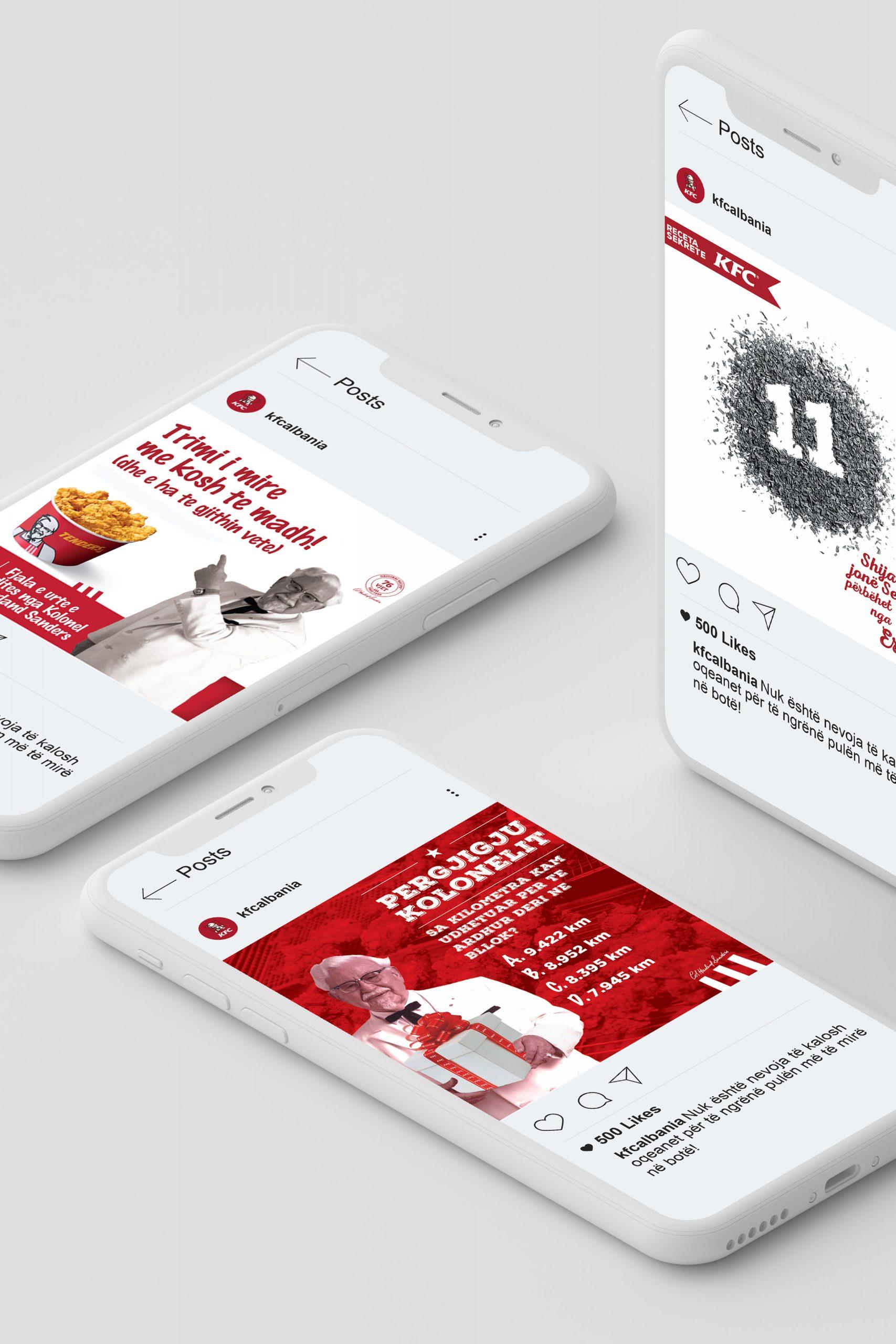 KFC Albania, Project Img 1 - Vatra Agency / Founder & CEO Gerton Bejo