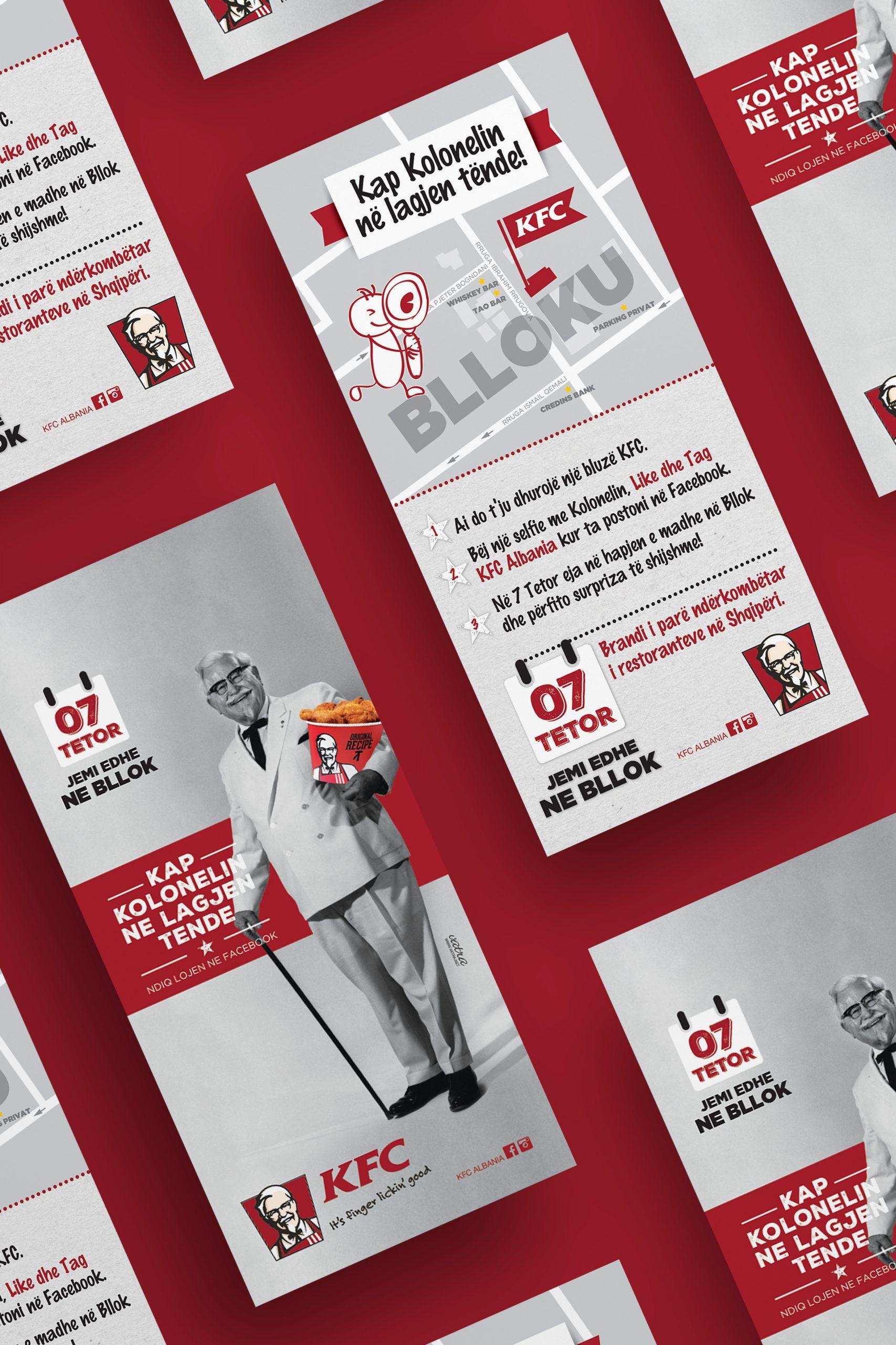 KFC, Social, Project Img 9 - Vatra Agency / Founder & CEO Gerton Bejo
