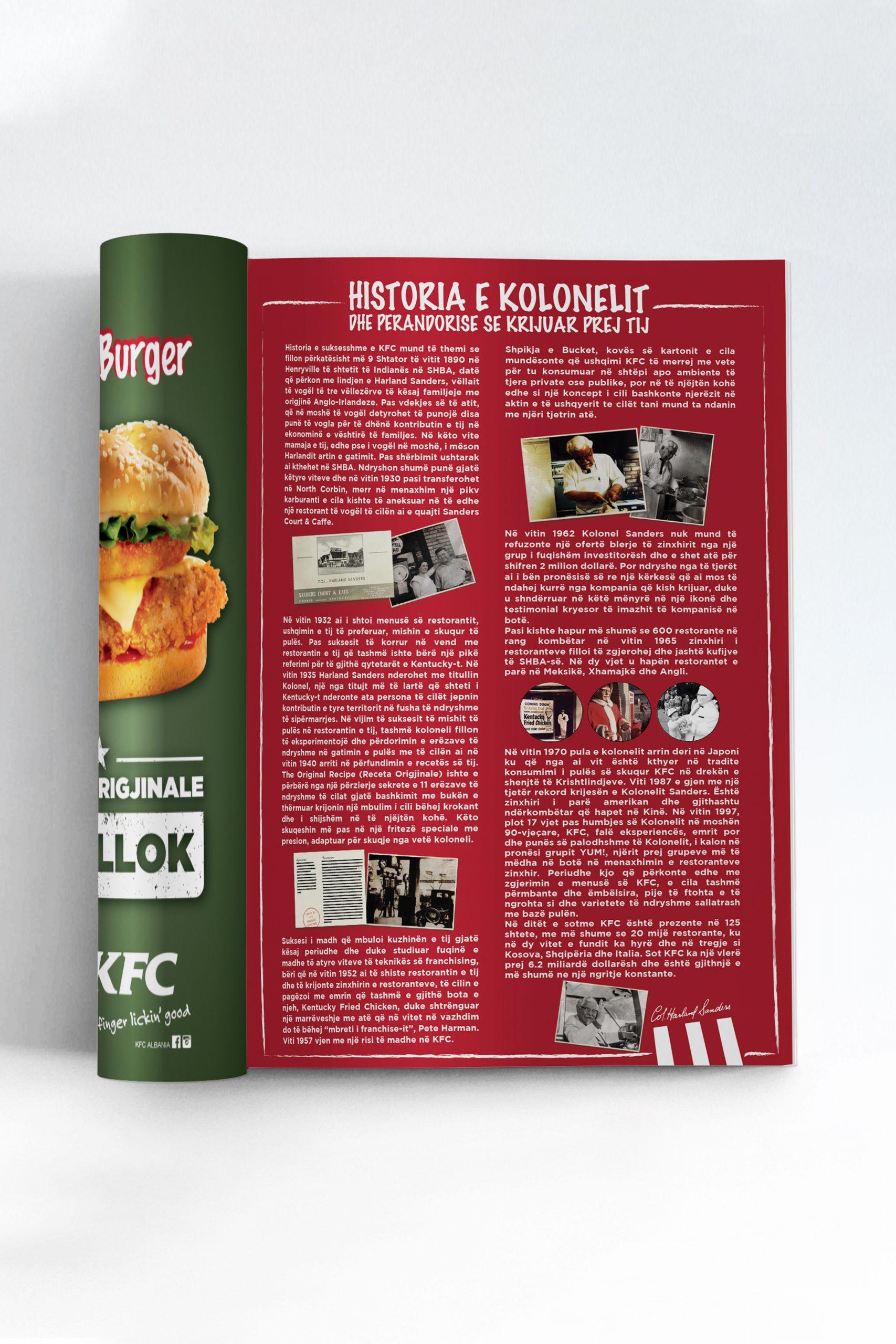 KFC, Social, Project Img 5 - Vatra Agency / Founder & CEO Gerton Bejo