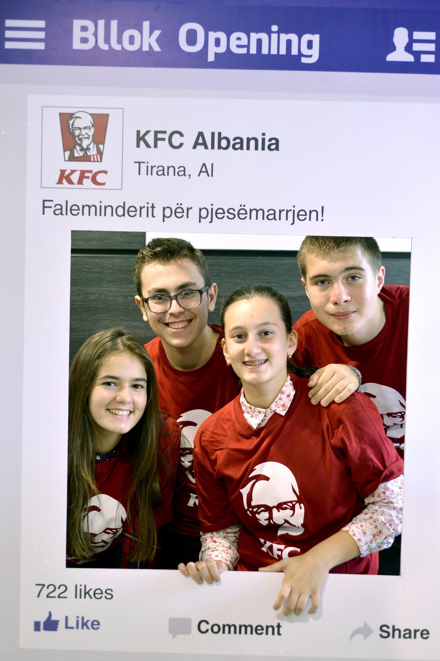 KFC, Social, Project Img 4 - Vatra Agency / Founder & CEO Gerton Bejo