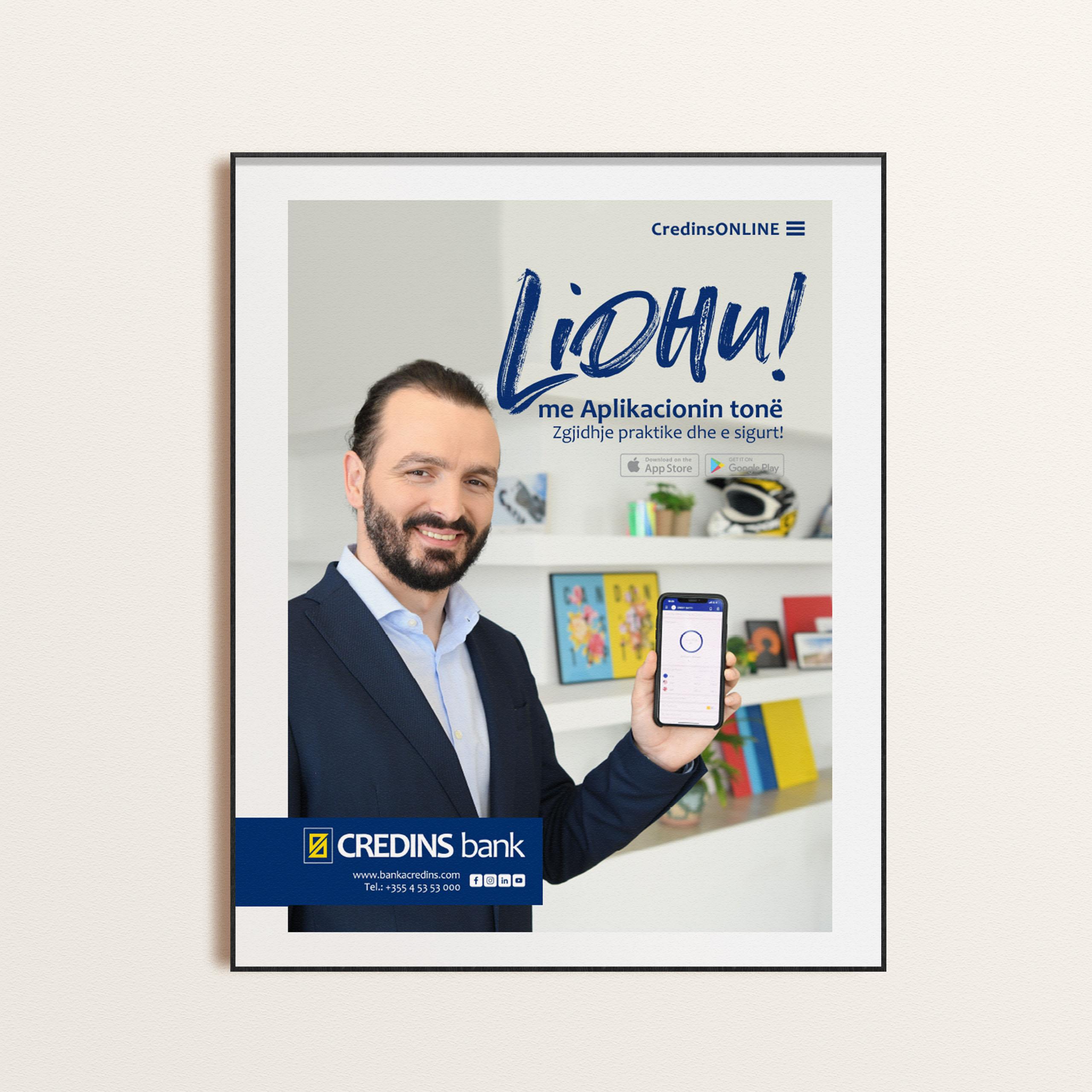 Credins Bank Project Img 5 - Vatra Agency / Founder & CEO Gerton Bejo