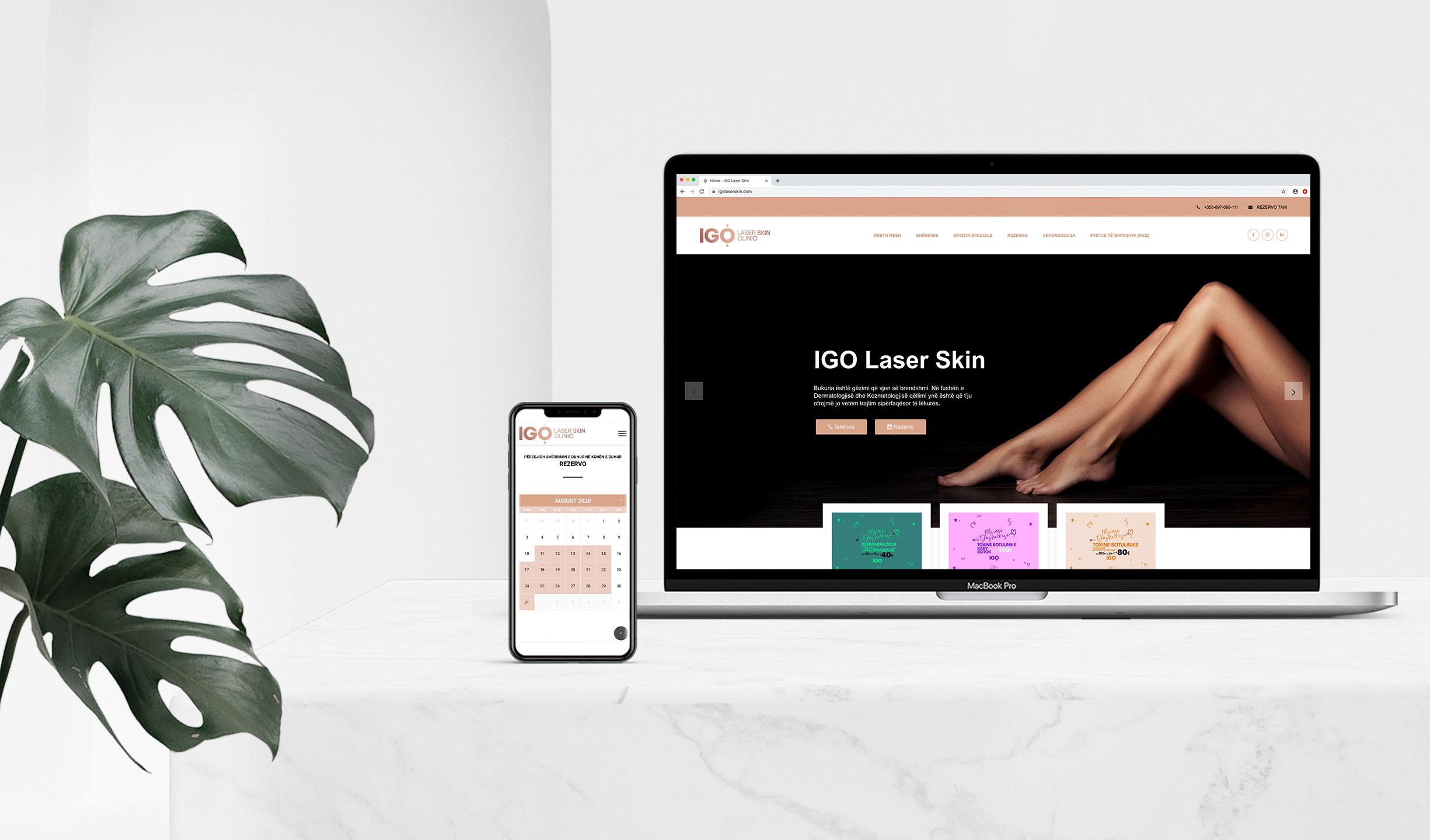 IGO Laser Skin Project Img 21 - Vatra Agency / Founder & CEO Gerton Bejo