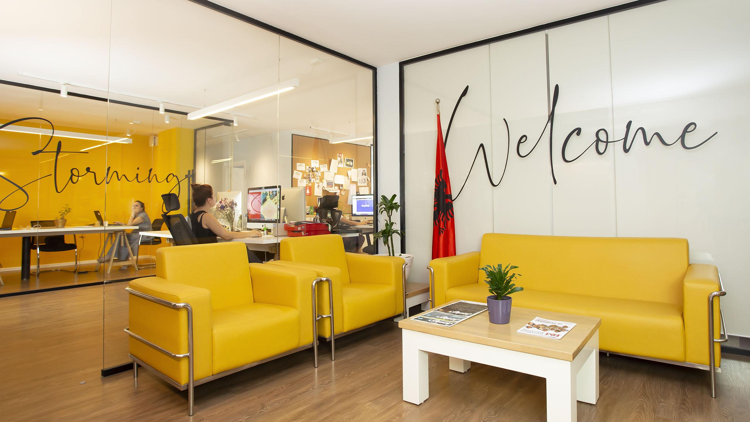 Headquarters, Vatra Agency / Founder & CEO Gerton Bejo