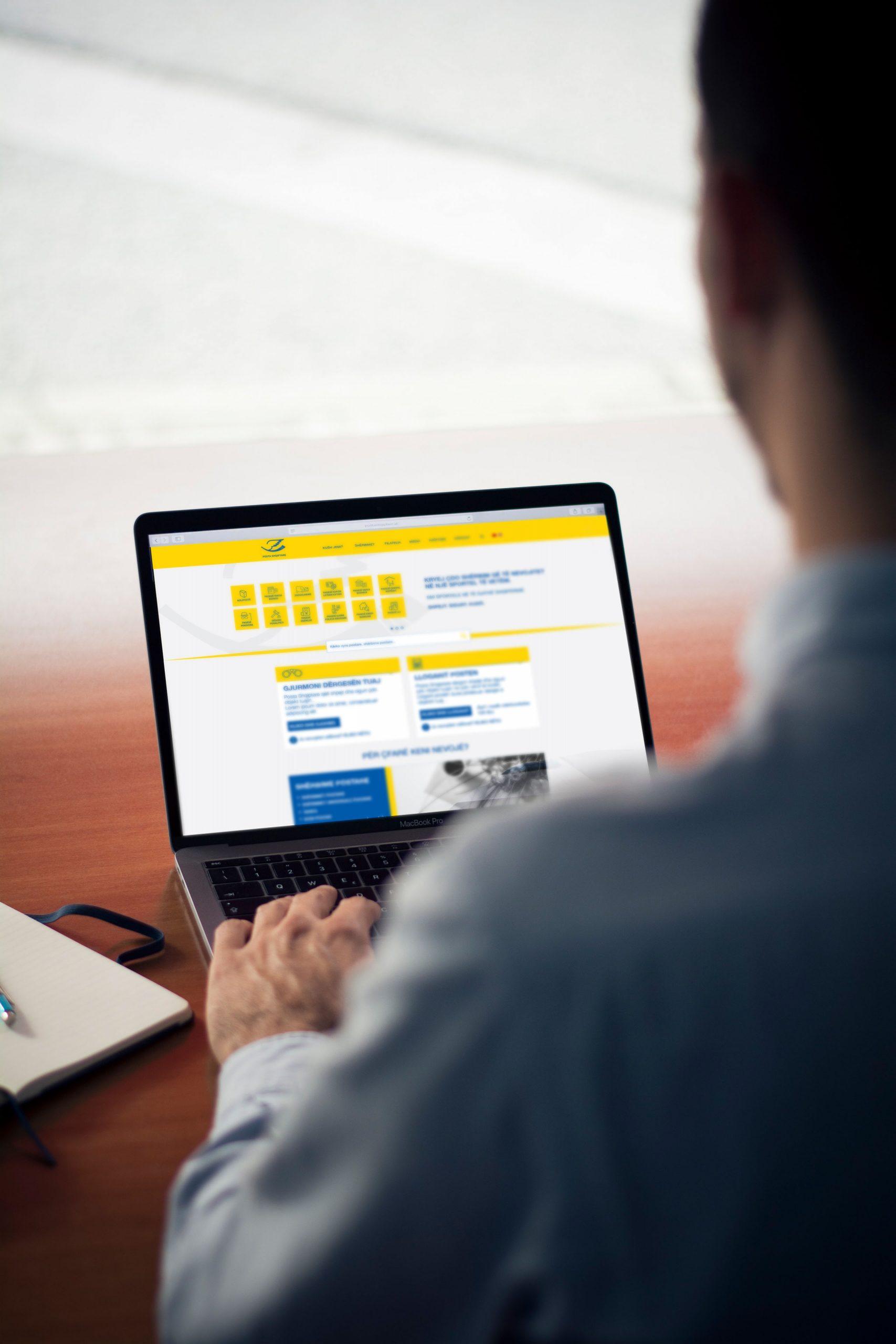Posta Shqiptare Project Img 6 - Vatra Agency / Founder & CEO Gerton Bejo